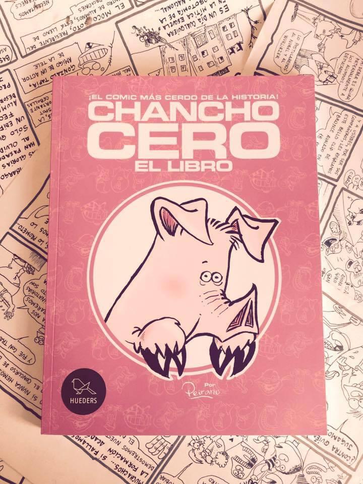 Gana una copia de Chancho Cero, el cómic de Pedro Peirano