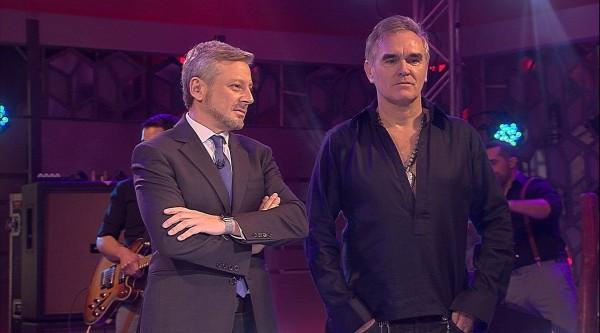 Morrissey en la televisión pública de Chile