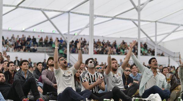 Vive la final de UEFA Champions League entre Real Madrid y Liverpool