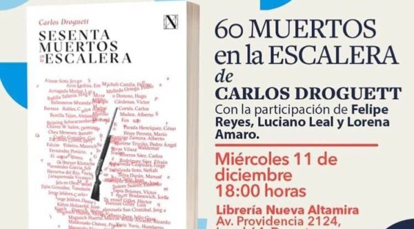 Editorial Nascimento regresa con reedición de 60 muertos en la escalera de Carlos Droguett