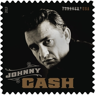 Johny Cash tendrá su propia estampilla