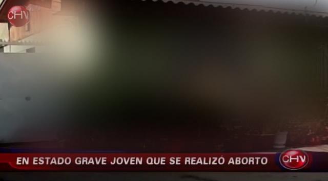 Una chica de 17 años abortó y quedó grave