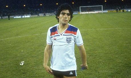 Maradona contra Inglaterra: el gol que no fue