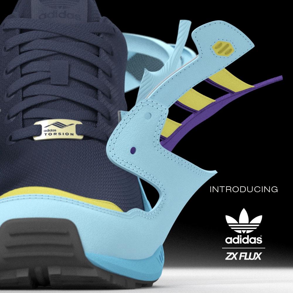 Vuelve un clásico de adidas Originals: ZX Flux