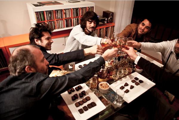 Pisco y chocolates con Fernando Lasalvia