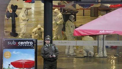 Bombazo en Escuela Militar: entre el humo, bajo el estruendo