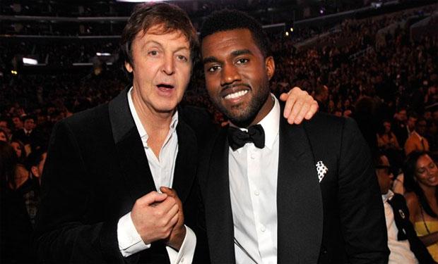 Así suena el tema de Kanye West y Paul McCartney