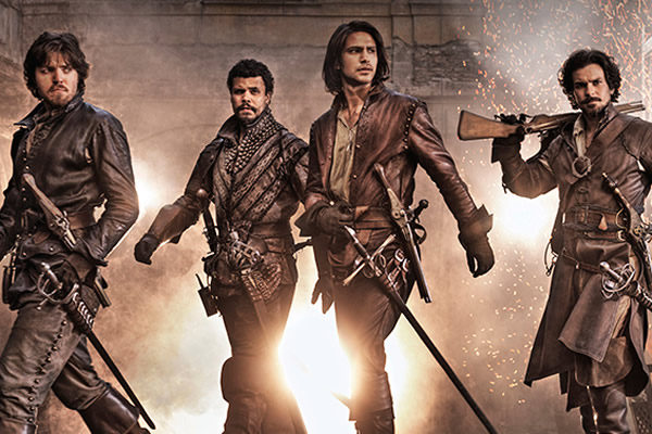 The Musketeers: Todos para uno